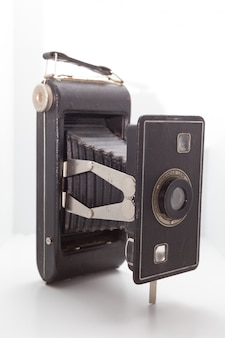Винтаж и ретро камера в студии