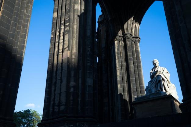 ウォルター・スコットの記念碑。エジンバラ。スコットランド。英国。