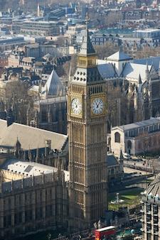 ビッグベンとウェストミンスター寺院、ロンドン、イギリス
