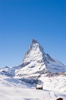 Церматт, швейцария, горнолыжный курорт швейцарии