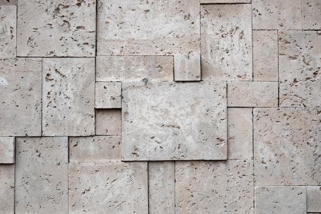 モダンなスタイリッシュな正方形の石の表面の背景