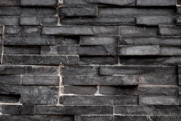 黒い四角形の正方形のタイルの背景