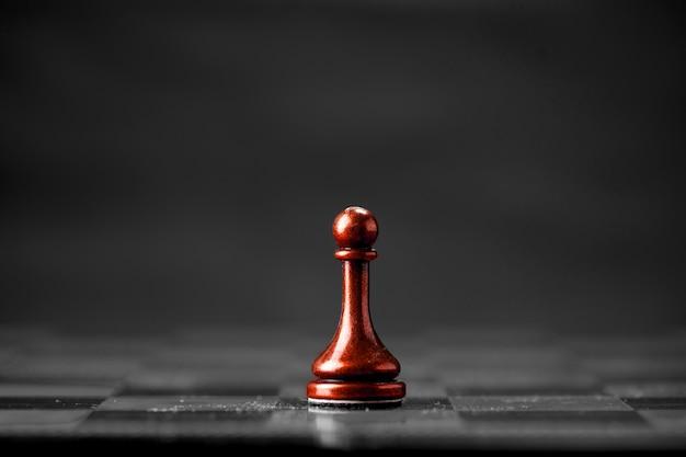 チェスのビジネスコンセプト、リーダー&成功
