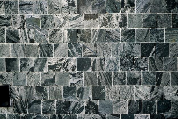 黒い四角タイルの背景&壁紙