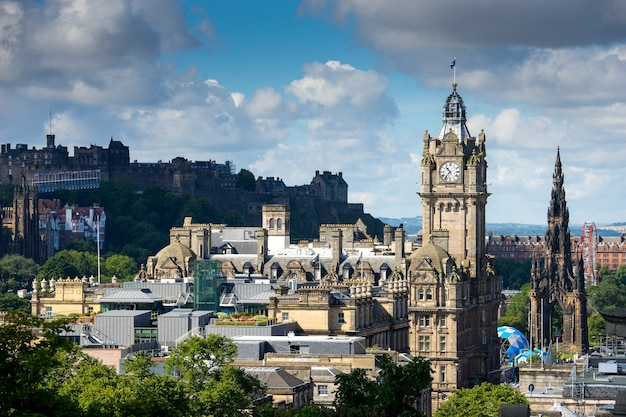 Город эдинбург, сколтленд, великобритания