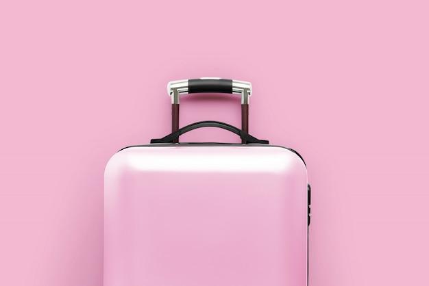 荷物のある旅行と飛行機