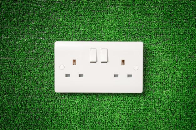 Электрический выключатель для концепции зеленой энергии