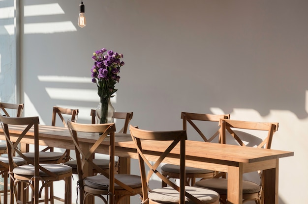 コーヒーショップのリビングルーム