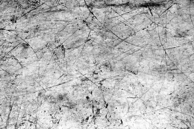 スクラッチと抽象的な白黒写真