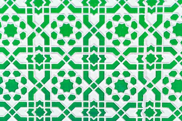 Марокканская плитка, традиционный бесшовный узор