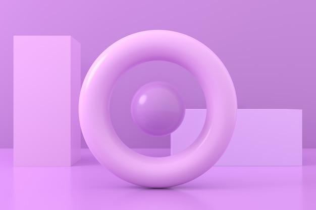 幾何学的形状の抽象的な背景
