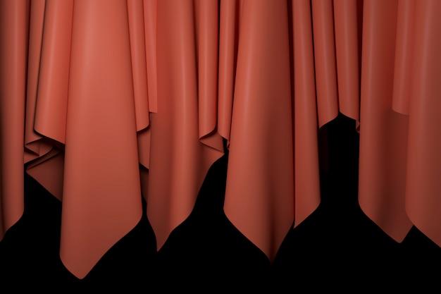 カーテンの背景