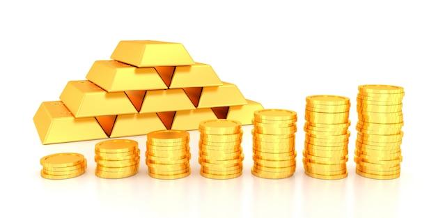 ウェブサイトバナーの金価格。