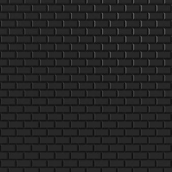 モダンなレンガの壁