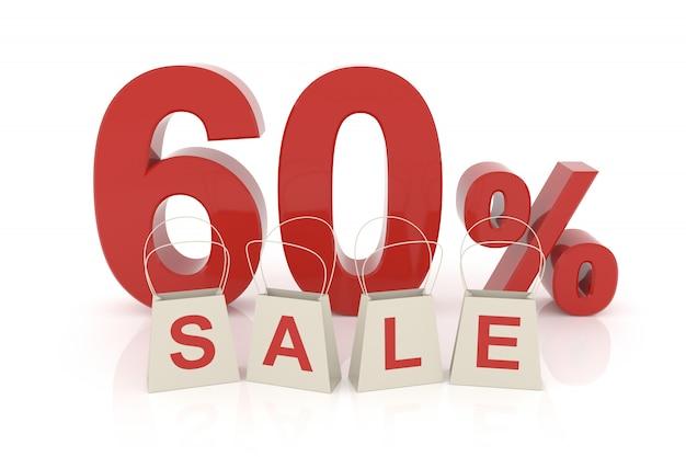 Продажа на шестьдесят процентов