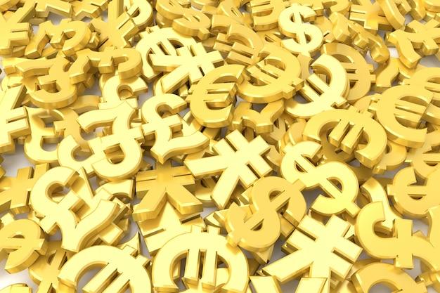 通貨記号の背景