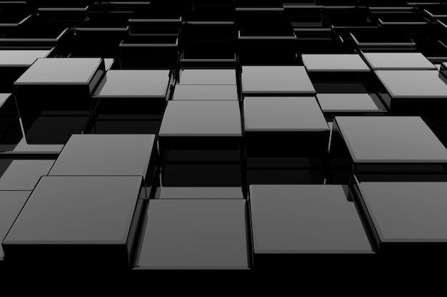 Абстрактный фон из кубиков