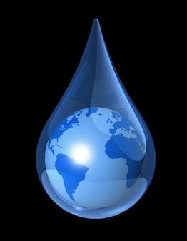 地球の水滴