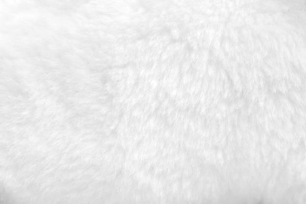 Белый мех фон крупным планом вид
