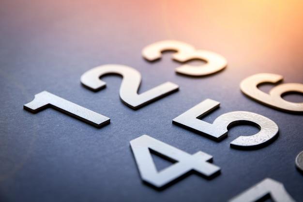 ソリッド数で作成された数学数