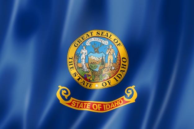 アイダホ州旗、米国