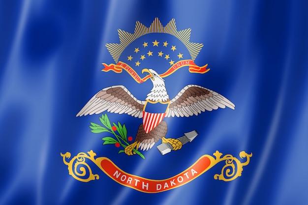 Флаг северной дакоты, сша
