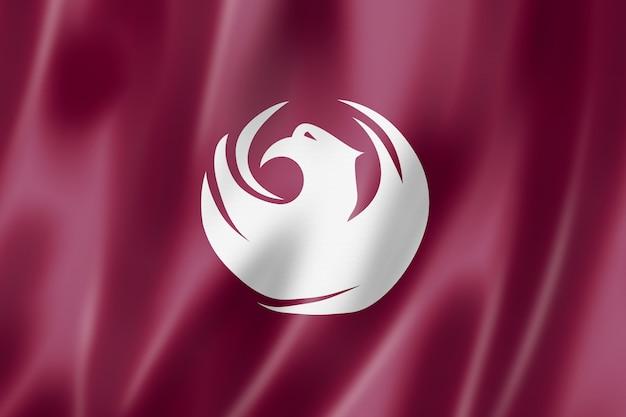 Флаг города феникс, аризона, сша