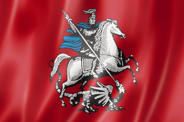 ロシアのモスクワ市の旗