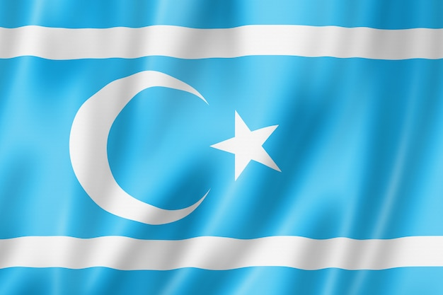 Этнический флаг иракских туркмен