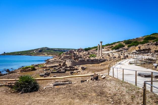 タロスの遺跡、サルデーニャの列