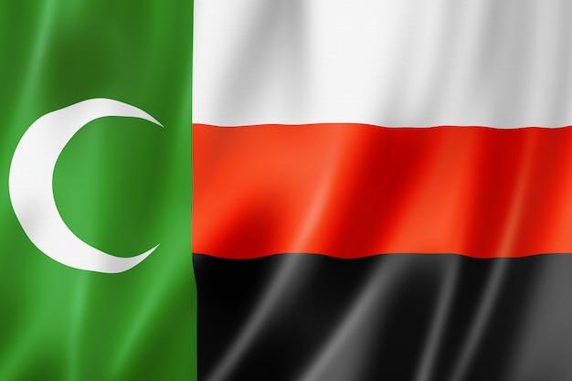 Месхетинские турки этнический флаг