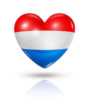 オランダのハートフラグアイコンが大好き