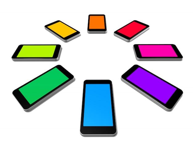 携帯電話の範囲