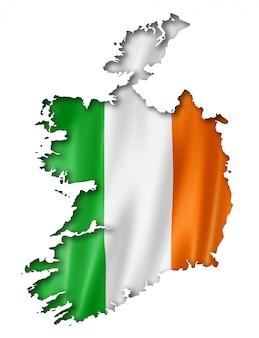 アイルランド国旗マップ