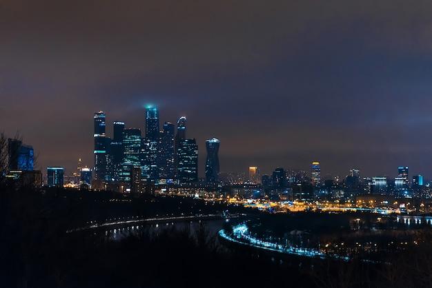 Город москва. московский международный бизнес центр. россия