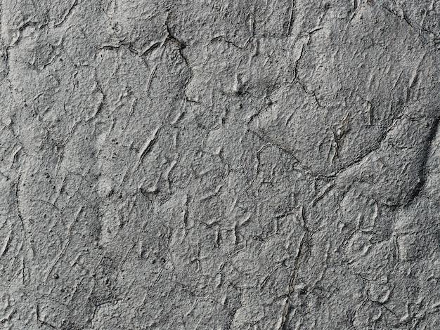 剥離ペイントの背景に亀裂と金属のテクスチャ