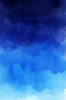 青い水彩背景テクスチャ