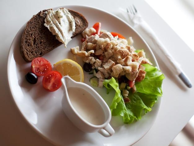 伝統的なシーザーサラダ