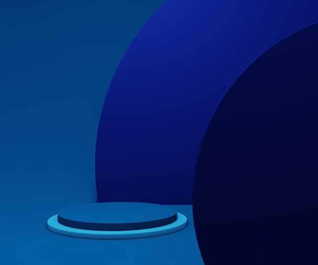 Абстрактная геометрия подиум для отображения продукта