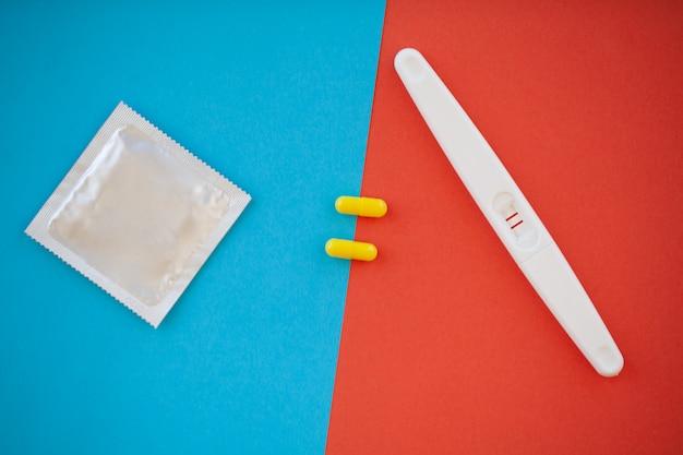 Результат положительный с двумя полосками и презервативом с противозачаточным средством