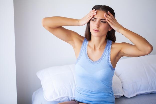 頭痛、痛みを伴う体の痛み