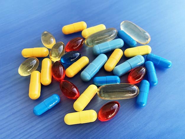 カプセルの性の健康のための医学の潜在的能力の丸薬。