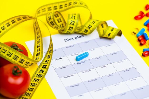 ダイエット計画と減量薬