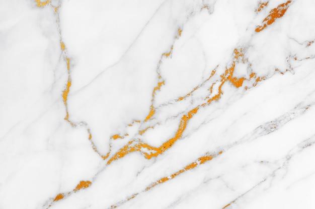 背景の自然なパターンを持つ白い大理石のテクスチャ