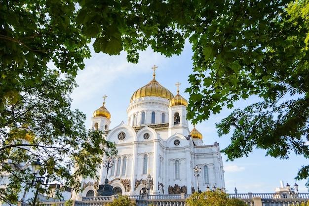 モスクワの眺め。救世主ハリストス教会