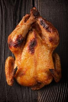 Целая жареная курица
