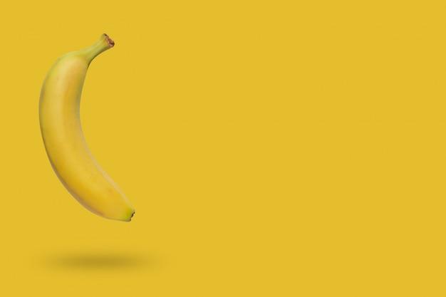 Желтый банан плавающий