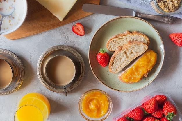 Традиционный европейский завтрак