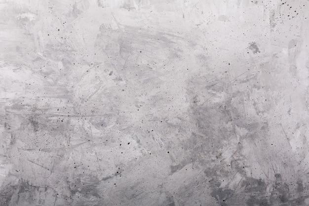 古い灰色塗られたコンクリートの素朴な背景、水平方向