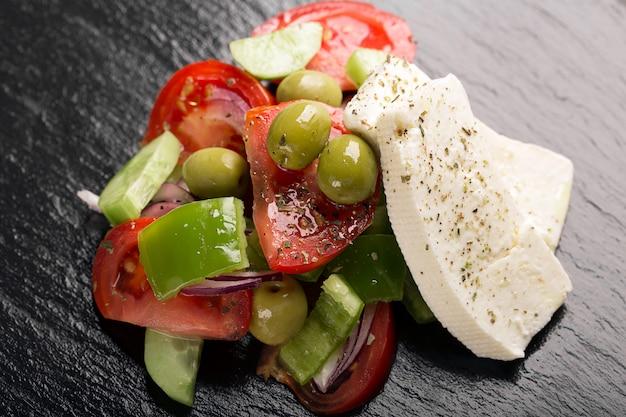 新鮮野菜のギリシャ風サラダ